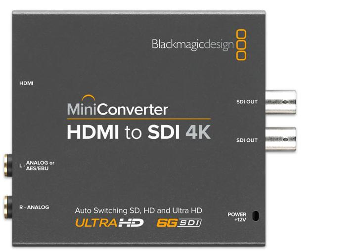 HDMI TO SDI 4K